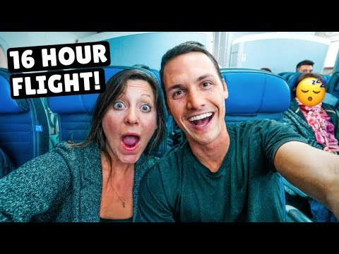OUR LONGEST FLIGHT EVER 16 hrs San Francisco to Singapore on United Airlines