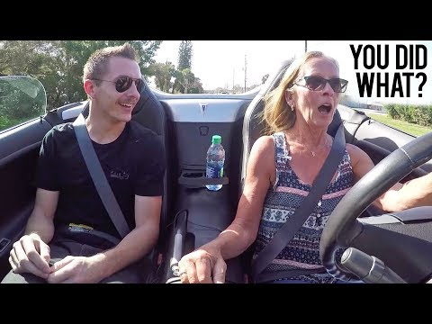 Xxx Mp4 Turbo D My Mom S Car Her Reaction Was Priceless 3gp Sex