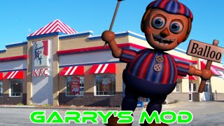 BB VISITS KFC!! - Gmod Nightmare Balloon Boy Mod (Garry's Mod)