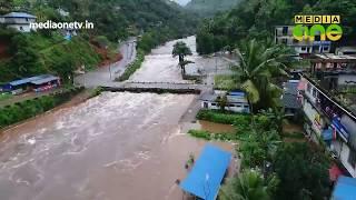അണക്കെട്ട് തുറന്നതിന്റെ ആകാശ കാഴ്ച | Aerial View of flood-hit areas in Kerala
