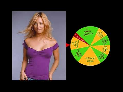 Chastity Wheel of Fortune Kaley Cuoco