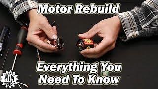 Brushed Motor Rebuild and Break In 3 years ago