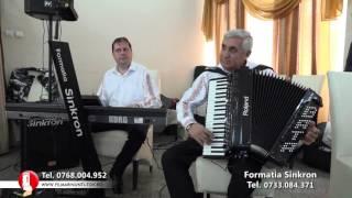 FORMATIA SINKRON - Colaj sarbe live 1 - 2016