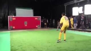 Neymar scored an awesome rabona