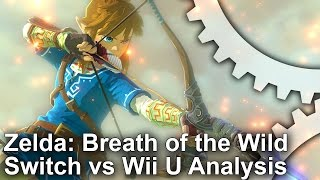 Zelda: Breath of the Wild - Switch vs Wii U Comparison + Frame Rate Test