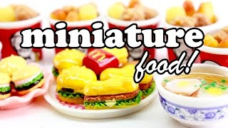 miniature burgers, fried chicken & TASTY FOOD!