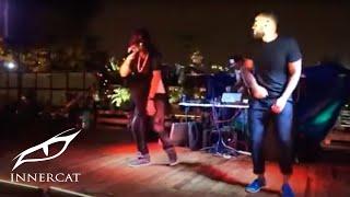 Types live performance by Jiggz Di King & Jitt