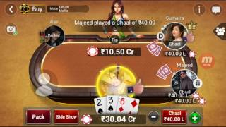 Teen pati gold deluxe mufils win 43 cr