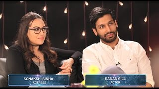 Sonakshi Sinha and Kanan Gill on Noor