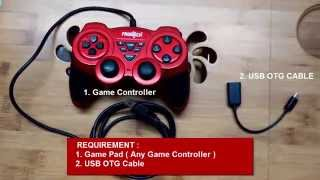 ADD JOYSTICK GAME PAD CONTROLLER TO ANDROID