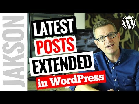 How to Display Recent Posts in WordPress – Latest Post with Image Plugin Tutorial 2017