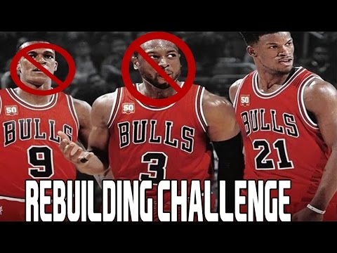 NBA 2K16 Rebuilding Challenge vs. Sixringsofsteel   Chicago Bulls!