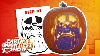 How to make a Thanos pumpkin for Halloween! | Earth