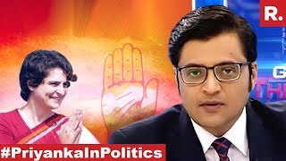 Cong Panics Months Before Polls, Will Vadra Angle Have An Impact? | The Debate With Arnab Goswami