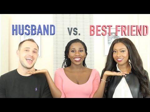 BEST FRIEND VS HUSBAND CHALLENGE | AdannaDavid