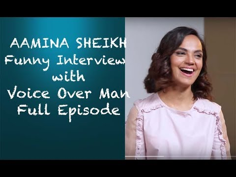 Aamina Sheikh Funny Interview with Voice Over Man - EPISODE 12