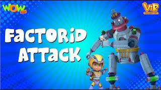 Factroid Attack - Vir: The Robot Boy - Kid's animation cartoon series