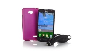 LG Ultimate 2 Tracfone w/Car Charger, Case   1200 Min  B...