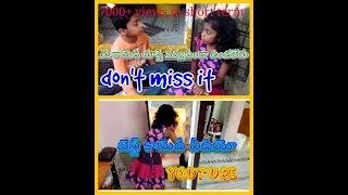 top-telugu whatsapp status funny videos.... Kids fun.. whatsapp video