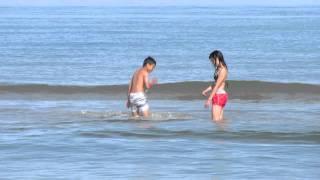 Movie from the Beach - on the beach in Denmark