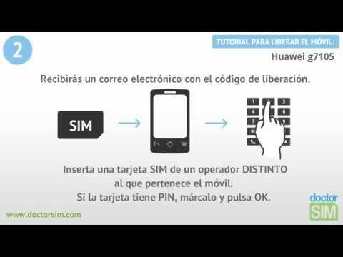 Liberar móvil Huawei G7105 Desbloquear celular Huawei G7105