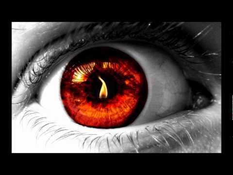 Как сделать горящие глаза