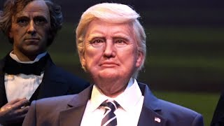 President Donald Trump Close Up-Audio Animatronic Full Speech, The Hall of Presidents, Magic Kingdom