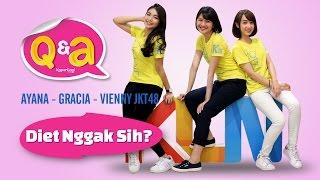 Q&A With  Ayana - Gracia - Vienny JKT48