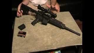 How to use an AR-15 rifle for Beginners (Colt, Stag Arms, Bushmaster, DPMS, Mossberg,etc)