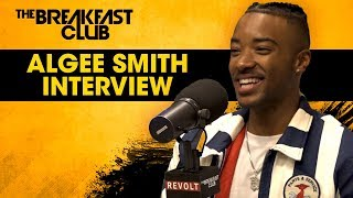 Algee Smith Talks Intro To Acting, Role In New Edition Story, Black Love + More