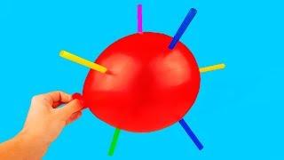 10 AWESOME BALLOON TRICKS!