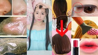 Testing 5 Weird & Interesting Asian Beauty Products | ft. Banggood