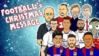 442oons Christmas Speech 2016!   w/ Messi, Ronaldo, Griezmann & more!