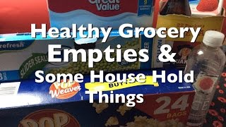 🛒Healthy Grocery Empties/House Hold 🛒Rosa