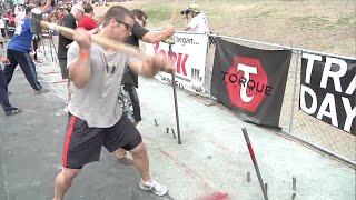 Sledge/Row: Men - 2009 CrossFit Games