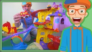 Educational Blippi Videos for Children | Learning Movement Verbs for Kids