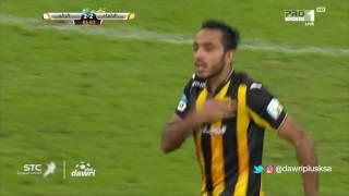هدف الاتحاد الثاني ضد الرائد  (محمود كهربا) في الجولة 14 من دوري جميل