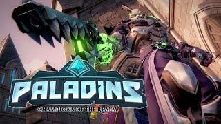 Paladins Gameplay Live - Paladins Or Overwatch? I Like Both