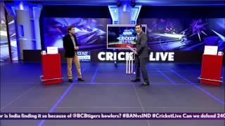 Kent Cricket Live: Laxman on India's struggles against Mustafizur