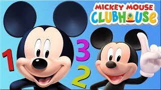 Mickey Mouse Clubhouse - Toddlers Learn Numbers With Mickey Mouse Compilation Education Kids Games