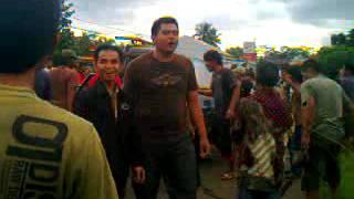Tragedi Rancah - Mobil Nyungseum di Sawah Dekat POM Bensin Rancah