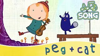 Peg + Cat - Theme Song (15 Minutes)