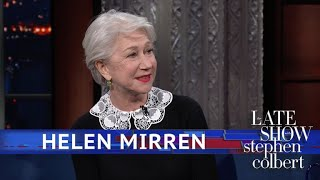 Helen Mirren And Stephen Share What Makes Them Cry