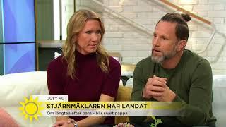 Fredrik Eklund om kraschen i livet – och hur han tog sig upp: