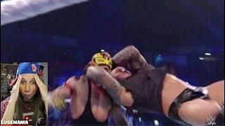 WWE Smackdown 11/6/18 Rey Mysterio vs Cien Almas