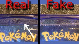 10 Ways to Spot Fake GBA Games (quick and to the point)