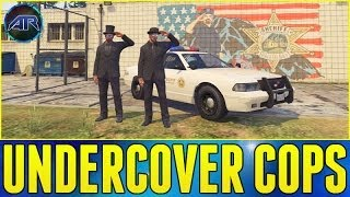 GTA 5 Online - Undercover Police Funny Moments