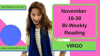 """VIRGO SOULMATE """"WILL THEY TELL THE TRUTH?"""" NOVEMBER 16-30 BI-WEEKLY TAROT READING"""