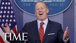 Sean Spicer's Greatest Hits As White House Press Secretary To President Donald Trump | TIME