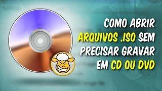 Como abrir arquivos no formato .ISO sem precisar gravar em CD ou DVD, utilizando um drive Virtual